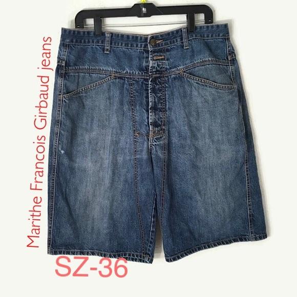b1861b83 marithe francois girbaud Jeans Shorts size 36 mens.  M_5b52c796800dee9432f3cc12